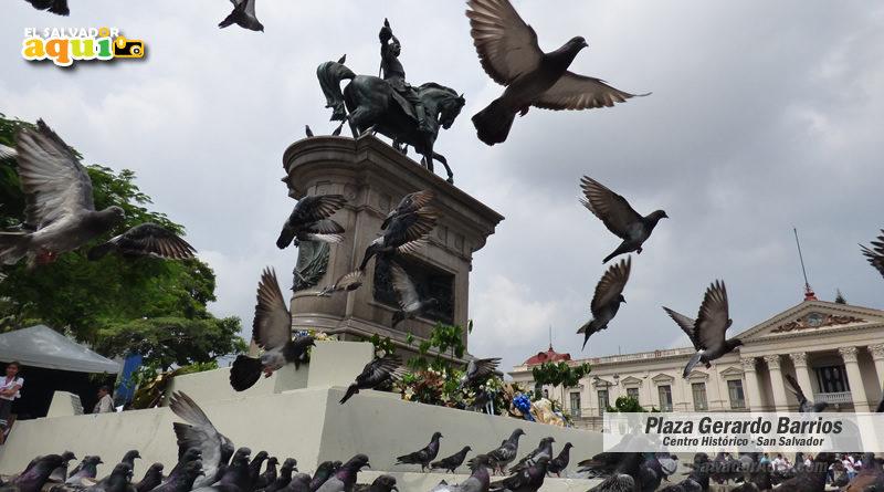 Plaza Cívica Capitán Gerardo Barrios